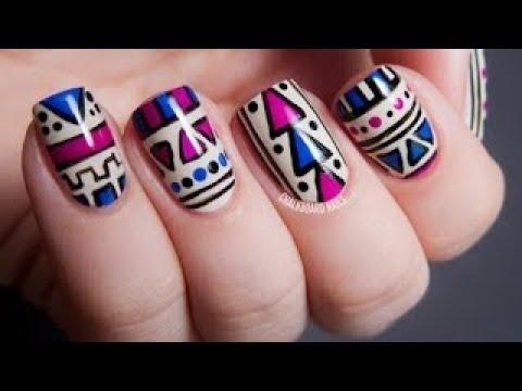 Modelos de uñas - Decoración de Uñas bonitas, fáciles y rápidas