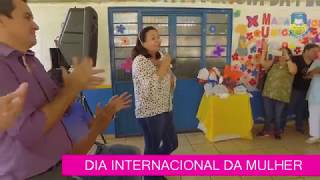 Homenagens pelo Dia Internacional da Mulher no Dorcelina Folador