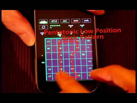 Video of Pentatonic Guitar Training