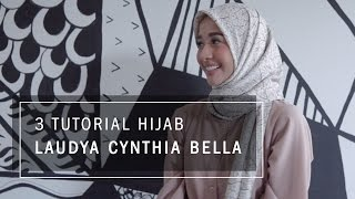 Video 3 Tutorial Hijab Laudya Cynthia Bella MP3, 3GP, MP4, WEBM, AVI, FLV Februari 2018