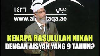Video Kenapa Rasulullah Menikahi Aisyah yang Berumur 9 Tahun? | Dr. Zakir Naik MP3, 3GP, MP4, WEBM, AVI, FLV Oktober 2018