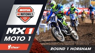Horsham Australia  city photos : Thor MX1 - Moto 1 - Round 1 Horsham 2016 Motul MX Nationals Australia