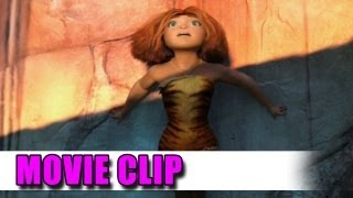 The Croods First Movie Clip - Ryan Reynolds, Nicolas Cage