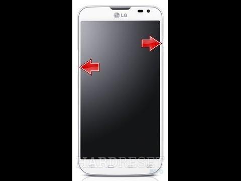 Как сделать сброс на lg l90