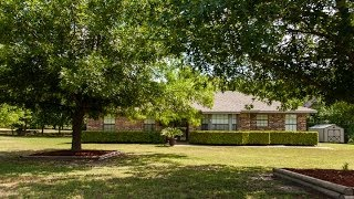 House for Sale with Acreage in Tom Bean, Texas