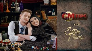 "Generally, the word ""encounter"" means to get your dice out and prepare to fight. However, encounters are really the moments when players get to use their stats to effectively traverse a situation. Satine Phoenix is joined by guest Ruty Rutenberg to talk encounters.What are your GM tips? Share in the comments below!Subscribe to Geek and Sundry: http://goo.gl/B62jlJoin our community at: http://geekandsundry.com/communityTwitter: http://twitter.com/geekandsundryFacebook: http://facebook.com/geekandsundryInstagram: http://instagram.com/geekandsundryGoogle+: http://plus.google.com/+GeekandSundryJoin Team Alpha: https://twitter.com/JoinTeamAlpha"