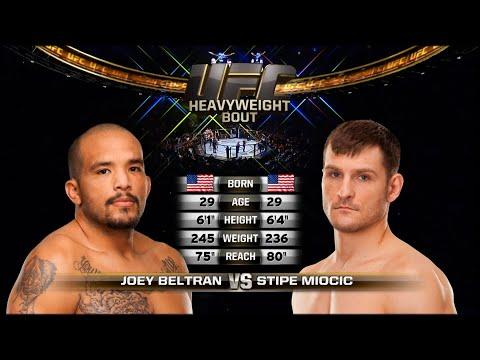 UFC Debut: Stipe Miocic vs Joey Beltran | Free Fight