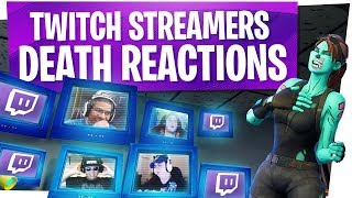 KILLING FORTNITE TWITCH STREAMERS with REACTIONS! - Fortnite Funny Rage Moments