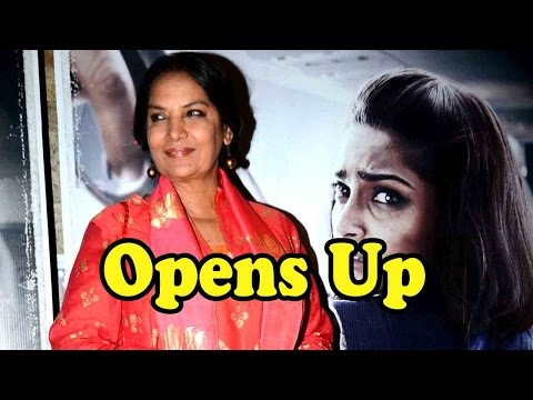 Shabana Azmi Opens Up On Working In Neerja!