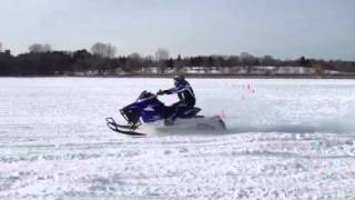 5. 2014 Yamaha SR Viper X-TX SE Test Launch Wheelie 1049cc