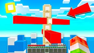 3D INSANE Ninja Obstacle Course Challenge Minecraft!