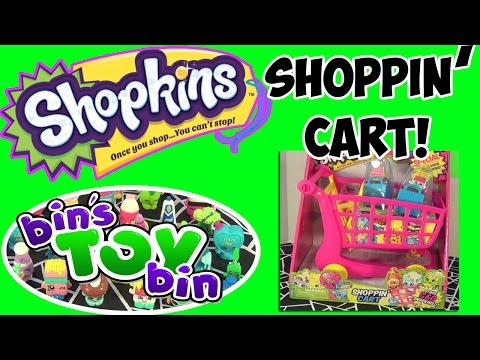 Bin - Today we open up some more Shopkins! See what is inside the awesome 12-pack including two mystery Shopkins! Plus, we open the Shoppin' Cart which can hold up to 60 figures and comes with 2...