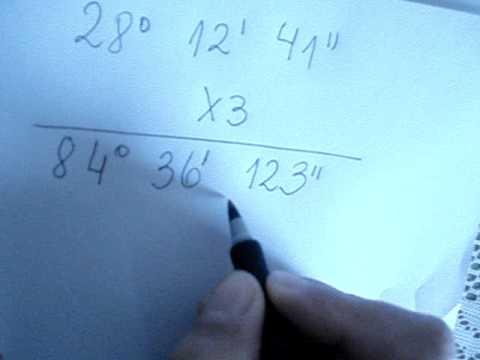 Vídeos Educativos.,Vídeos:Sexagesimal: multiplicación