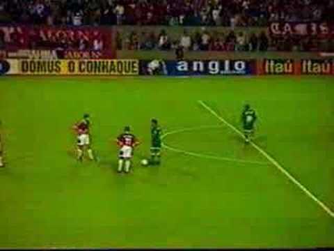 Gol de Dunga, Inter de Porto Alegre vs Palmeiras