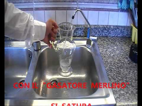 GASATORE MERLINO ACQUA