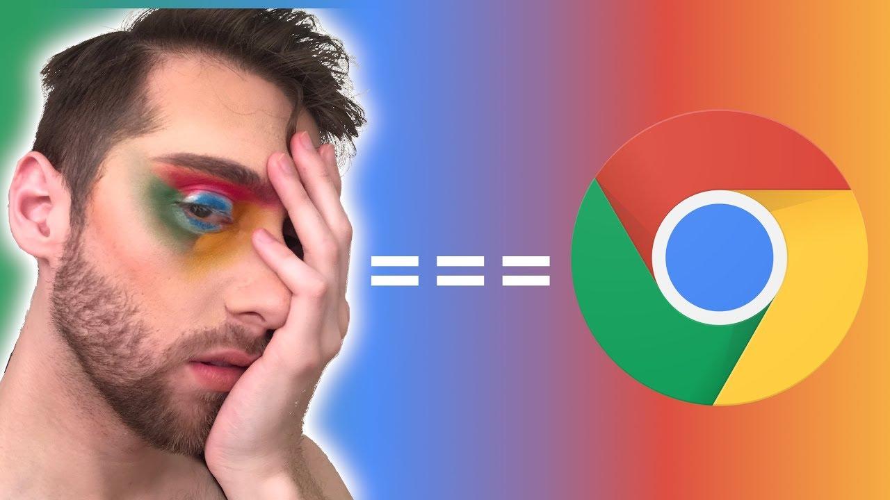 Anna Lytical's Chrome makeup tutorial