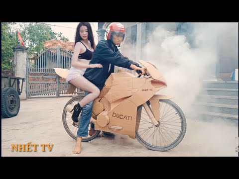 Chế tạo ducati panigale v4s từ xe đạp | kawasaki z1000 | nhết tv - Thời lượng: 8 phút, 21 giây.