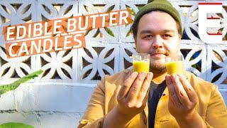 How To Blow Your Guests Minds With Edible Butter Candles — You Can Do This! by Eater