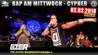 RAP AM MITTWOCH HEIDELBERG: 02.02.18 Die Cypher feat. GIER, AMIGO, JAM JEY uvm. (1/4)