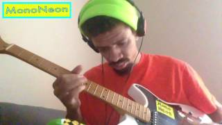 MonoNeon guitar vibe on SLUM VILLAGE