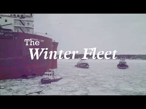 Historic Door County - The Winter Fleet