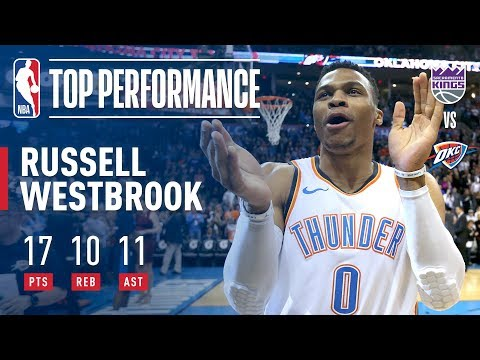 Russell Westbrook Notches His 99th Career Triple Double