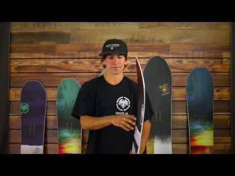 Never Summer Swift Snowboard - Men's