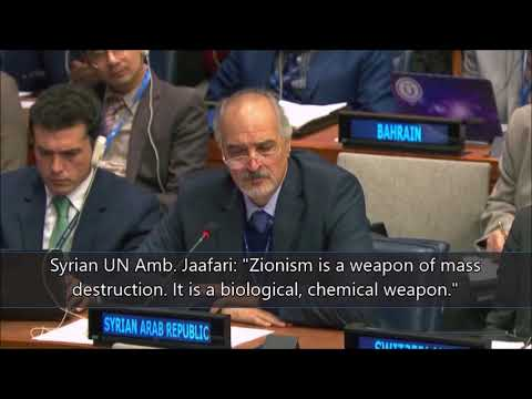 Watch Poison of Antisemitism at UN, Syria & co., 11/10/2017