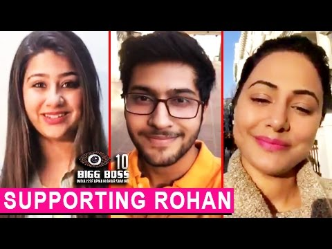 Hina Khan, Namish Taneja : TV Celebs Supporting RO