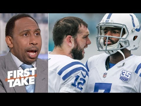 Video: Andrew Luck's Colts teammates don't have a right to be mad at him – Stephen A. | First Take