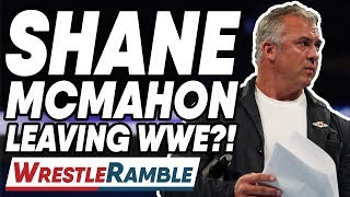 Shane McMahon LEAVING WWE?! WWE SmackDown Live Sept. 17, 2019 Review | WrestleTalk's WrestleRamble