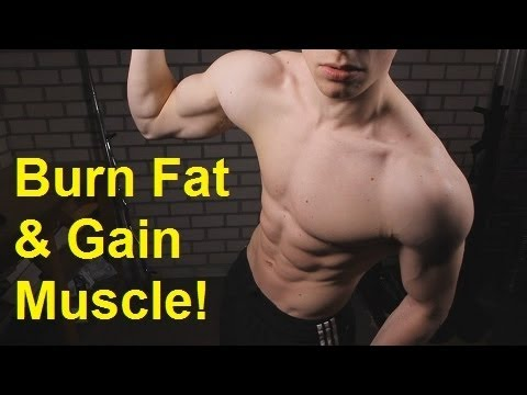 Burn Fat & Build Muscle: Insane Cardio Workout @ Home!