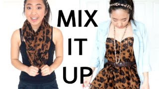 Transform your SCARF into cute DRESSES! - YouTube