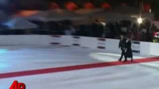 Raw Video: World's Largest Ice Rink Opens