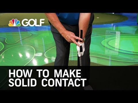 How to Make Solid Contact – School of Golf | Golf Channel