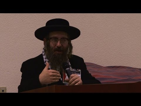 Rabbi Dovid Weiss on Judaism, Israel and Zionism