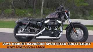 9. New 2014 Harley Davidson XL 1200 Sportster Forty-Eight 48 for sale review