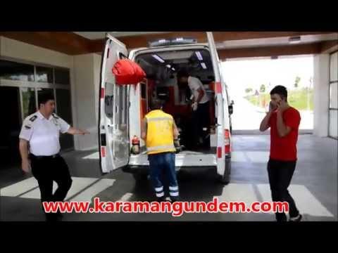 Karaman'da Su Tankı Patladı