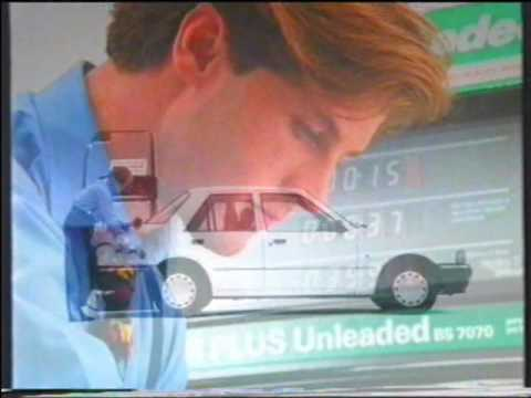Esso Super Plus Unleaded Advert (1989)