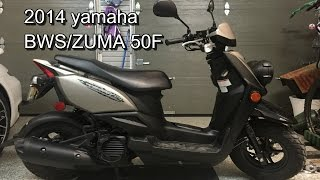 8. 2014 YAMAHA ZUMA 50 F/ BWS REVIEW