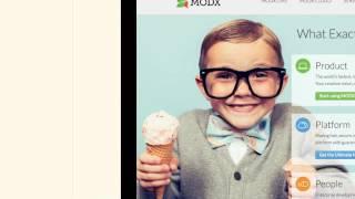 Разработка блога на платформе MODx, используя CSS и HTML