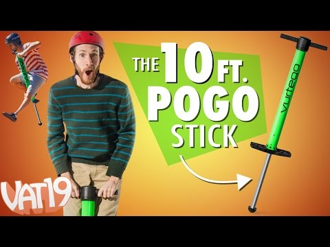 10ft. Pogo Stick! (видео)