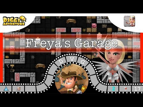 [~freya~] #17 Freya's Garage - Diggy's Adventure