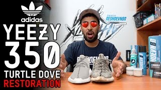 Video Yeezy 350 Turtle Dove Restoration Tutorial with Vick Almighty MP3, 3GP, MP4, WEBM, AVI, FLV Desember 2018