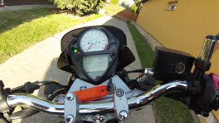 2. SUZUKI SV 650 N 2007 walkaround / sound
