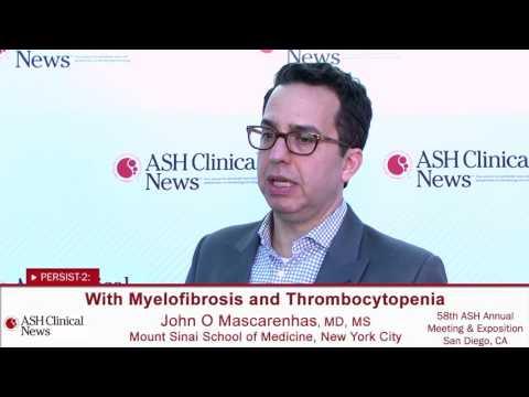 John Mascarenhas, MD, MS: Continuing to Evaluate Pacritinib for Myelofibrosis
