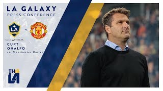 LA Galaxy head coach Curt Onalfo shares his thoughts with the media following the team's 5-2 loss vs. Manchester United.Want to see more from the LA Galaxy? Subscribe to our channel at http://www.youtube.com/LAGalaxy.Facebook: http://www.facebook.com/lagalaxyTwitter: http://www.twitter.com/lagalaxyWant to check out a game? Visit http://www.lagalaxy.com to view upcoming matches and purchase tickets!