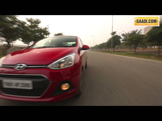 Hyundai Xcent Petrol Drive Review
