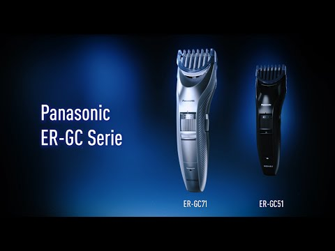 Panasonic Bart-/Haarschneider ER-GC-Serie: Bartpflege mit Präzision