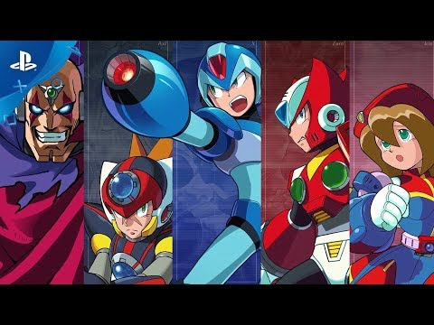 Megaman X Legacy Collection 1 & 2 Trailer